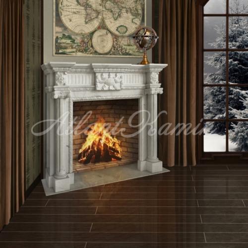 Мраморный камин Венерди