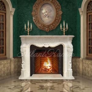 Мраморный камин Дамаско